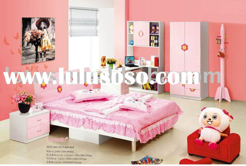 Modern style: girls bedroom furniture set (LCB-891)
