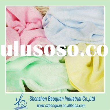 Natural antibacterial bamboo towel