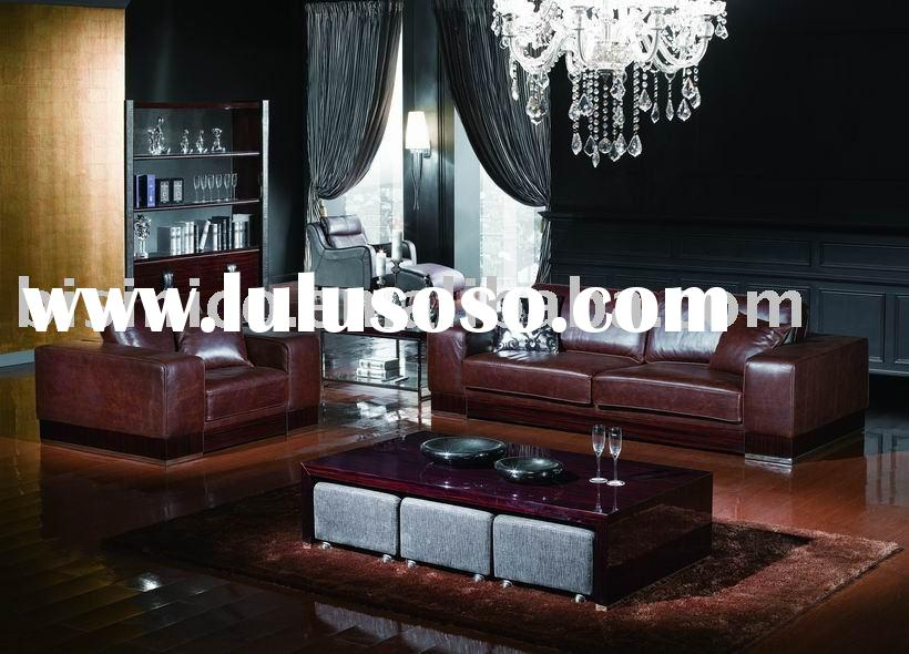 New classical leather sofa,end table,coffee table,living room sets