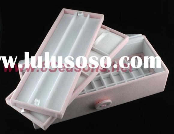 Pink Pandora Bead Display Jewellery Box