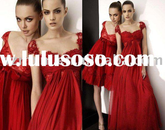 Red Evening dress ED239