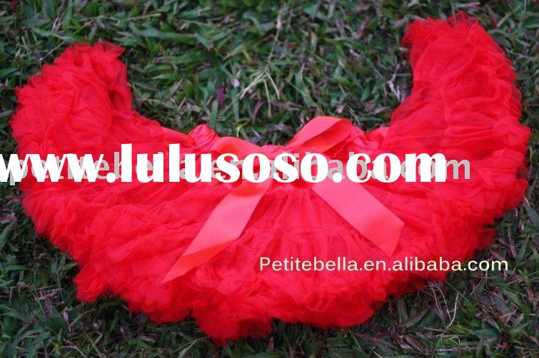Red Full Pettiskirt Tutu MAP01