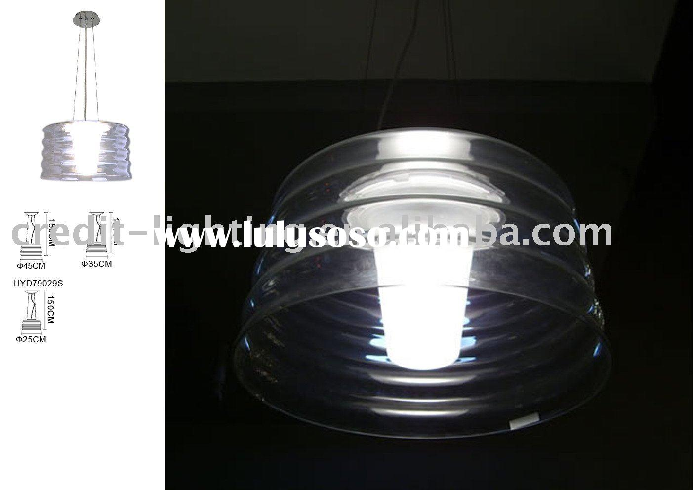 Replica Medium Aqua Cil Pendant Lamp From China Manufacturer/Modern pendant Lamp