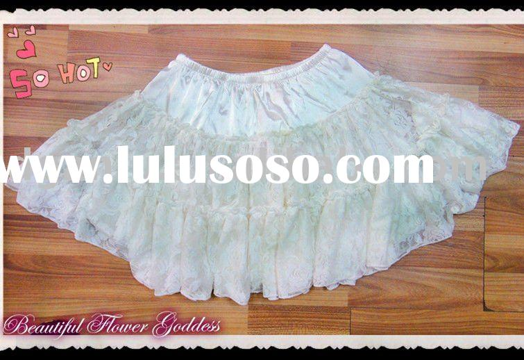 White Fashion Design Skirts
