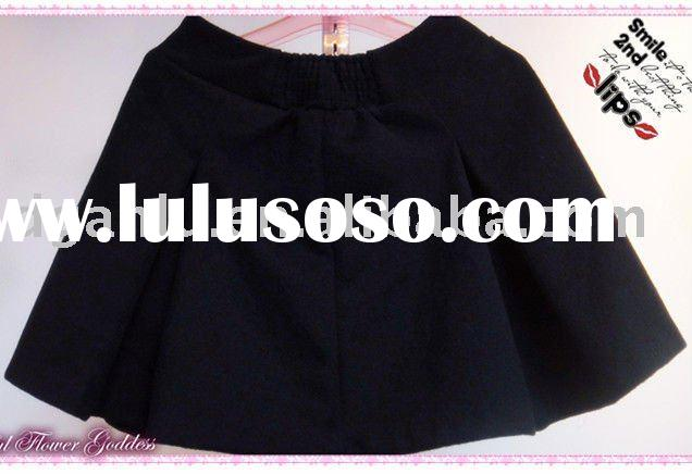 Women Black Mini Skirt