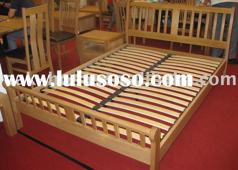 Wooden Bed  5ft