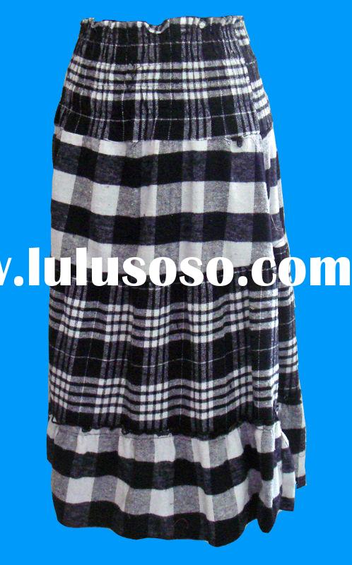 casual cotton skirt