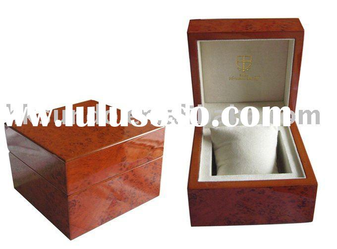 fashion personalized luxury wooden watch boxes