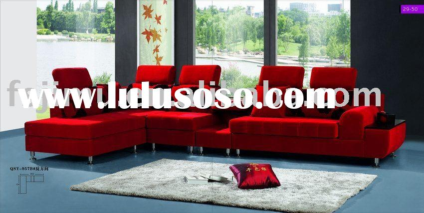 living room furniture corner new style luxurious sofa set