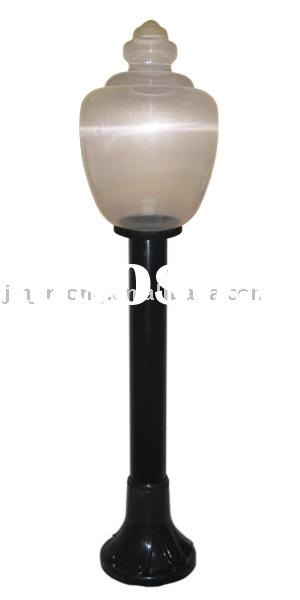 plastic garden light(plastic lampshade,plastic lamp shade,plastic chimney)