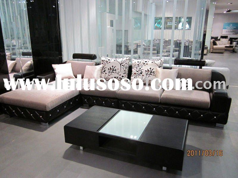 sofa set designs price/ living room furniture fabric sofa/ solid wooden home furniture