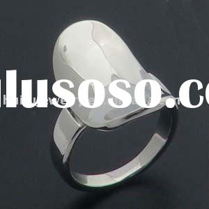 stainless steel simple rings