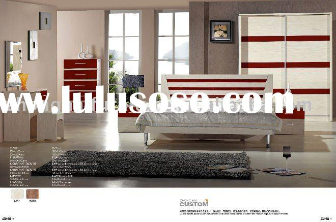 white modern panel bedroom furniture