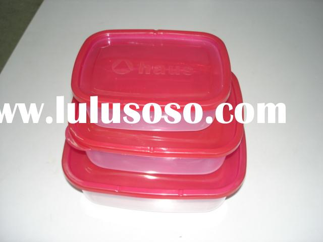 3sets food container,lunch box,keep fresh box,  lock box