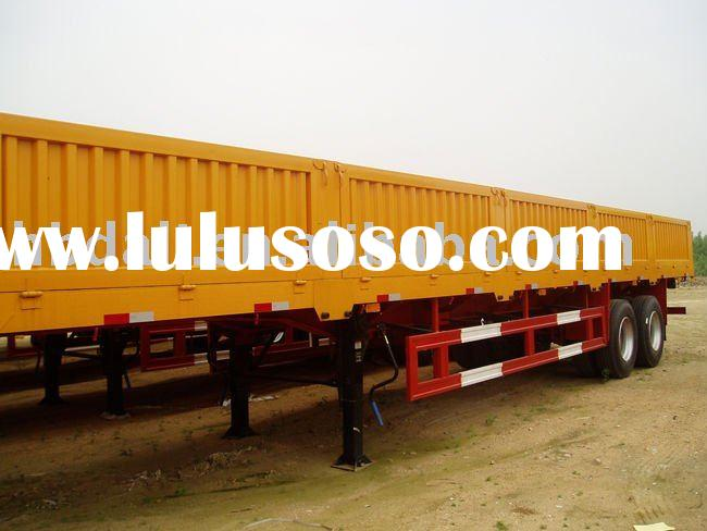 40 Feet Cargo Trailer with Twist Lock..Can carry container