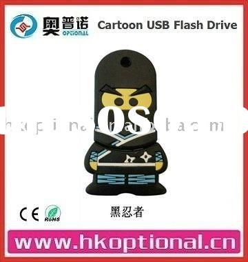 Cartoon Character USB Flash Drive 4GB
