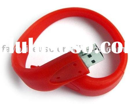 Cheap custom usb bracelet