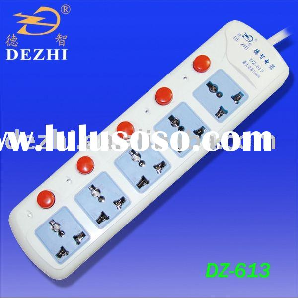 DZ-613 5 way electrical outlet