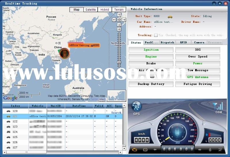 GPS software Server and Client Software with Remote Control Set-up IP Address
