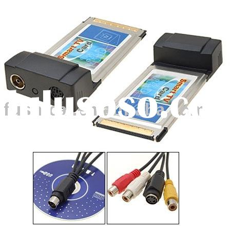 Laptop TV Card with FM / Pcmcia TV Tuner Card