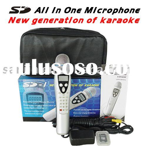 SD Card Karaoke Microphone