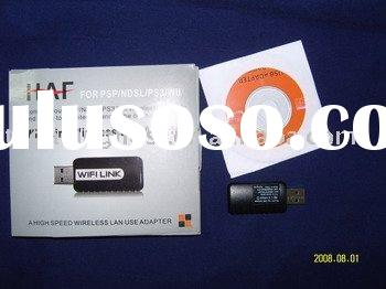 WIFI LINK Wi-Fi USB Adapter for PSP/PS3/Wii/NDSL/DS Lite