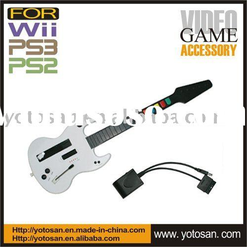 Wireless Electric Game Guitar for PS3,PS2,Wii