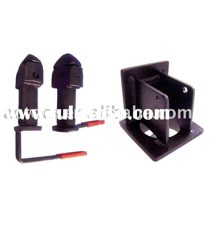 trailer container twist lock