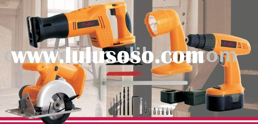 4 in 1 cordless tools set