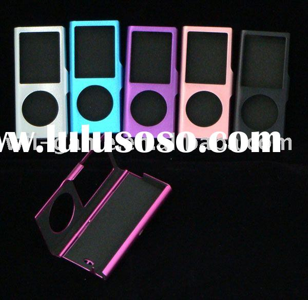 Aluminum cover pouch caes for ipod Nano4