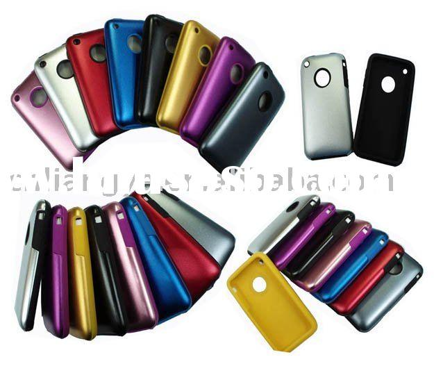 Aluminum+silicone Case Cover for 3G/3Gs(Paypal acceptable)