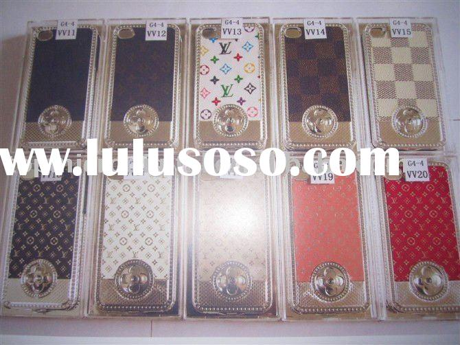 LV mobile phone case for iphone 4G
