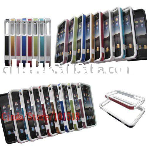 New For Apple iphone 4 4G Aluminum Bumper Frame hard Case (PayPal available)