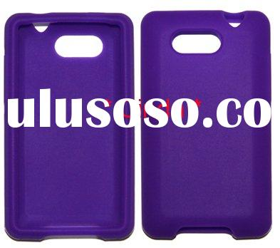 Newest Silicone Skin Rubber Case Cover for HTC Aria/6366 , silicon cover case skin for HTC