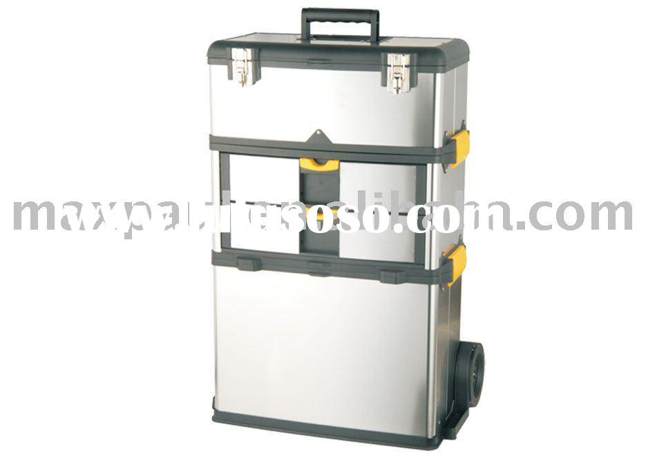 Stainless Steel Rolling Tool Box