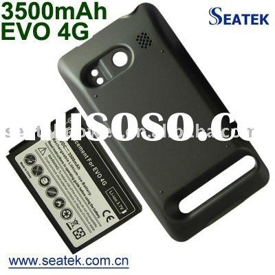 Ultra High Capacity 3500mAh Extended Battery with Door for HTC EVO 4G