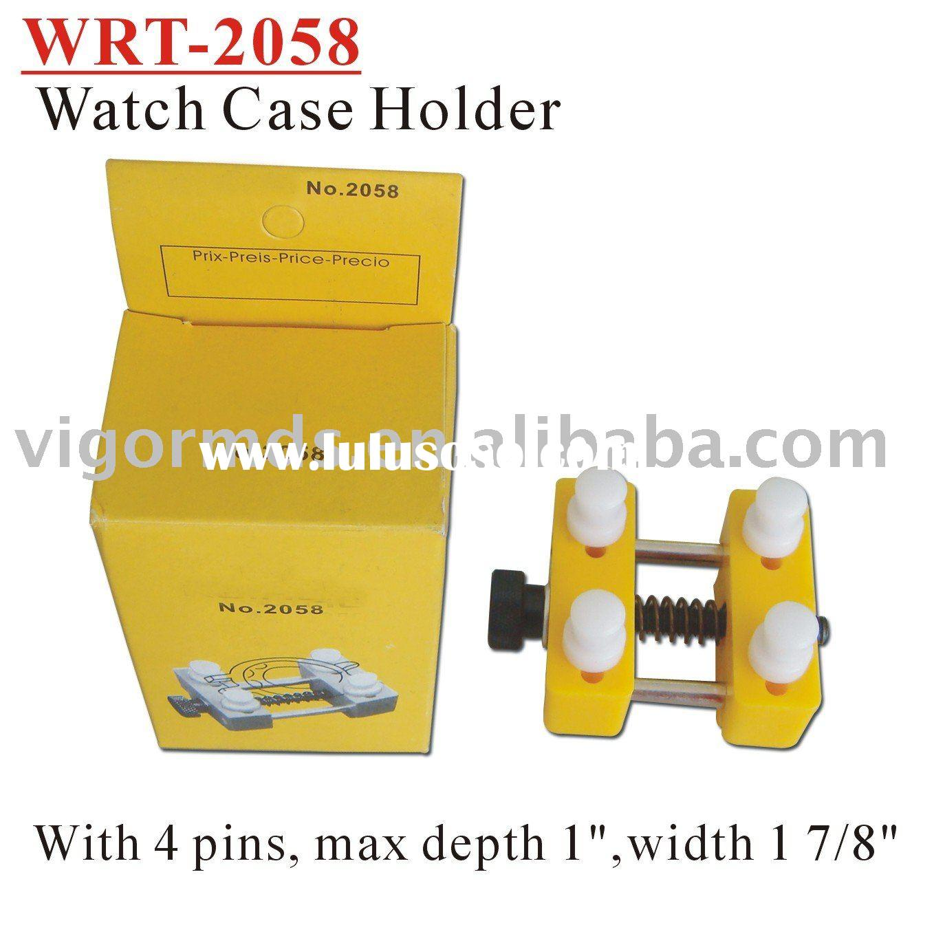 (WRT-2058) Watch Repair Tools / Case Holder Spring Loaded Jaws Great for Battery Replacement