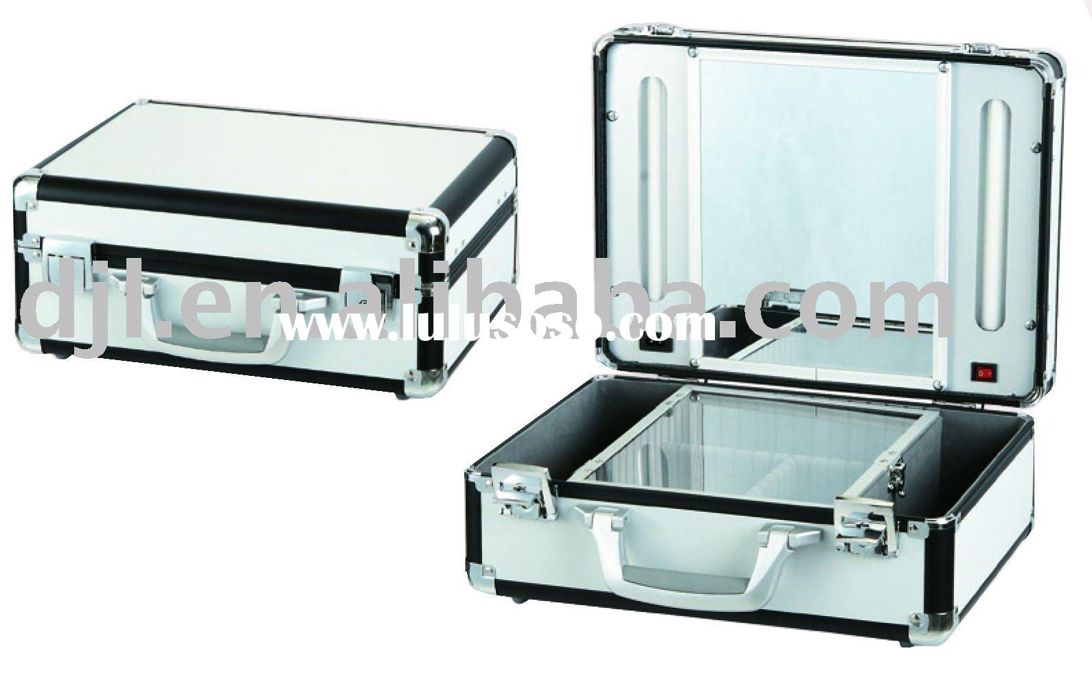 aluminum light cosmetic case