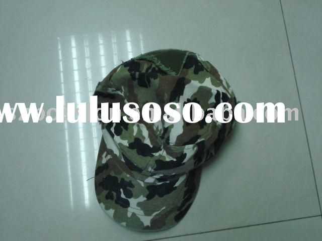 camouflage hat,military cap