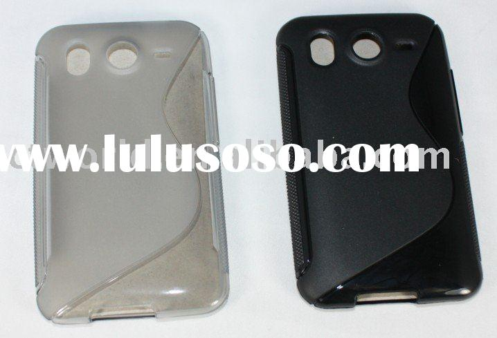 for HTC Desire HD Ace high quality transparence TPU case cover