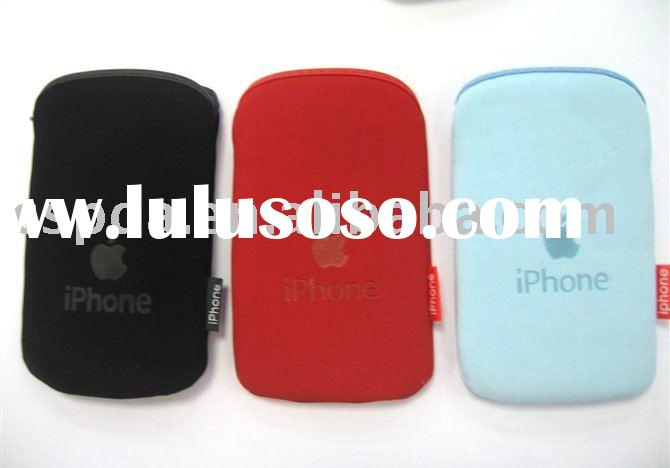 for iphone case Soft Pouch Pocket Case For 3G iPhone phone