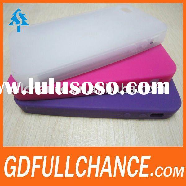 latest design silicone cover for iphone(CDMA)