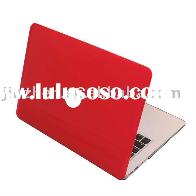 red see through hard shell case for mac book pro 15.4""