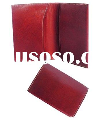 2011 New Fashion Genuine Leather Business or Card Holder  Travel document holder