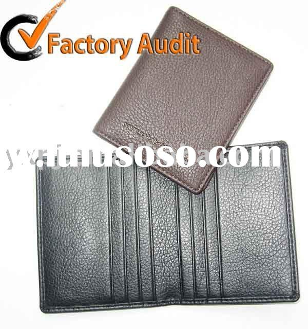 2011 leather  business card holder