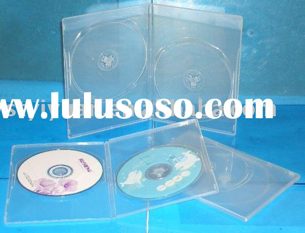 7mm  clear plastic dvd holder