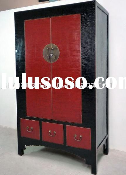 Antique furniture-Two Doors Three Drawers Cabinet