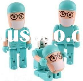 Cartoon doctor model usb flash drive