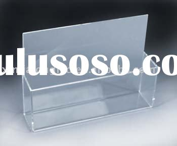 Clear Plastic Brochure Holder