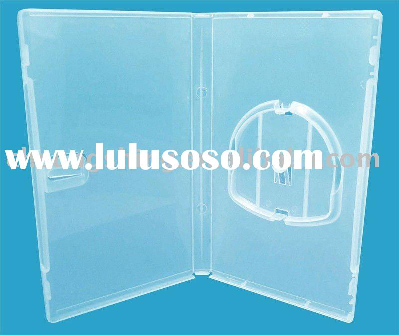 Clear plastic card case